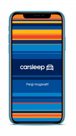 Kasutage Carsleepi rakendust mugavaks ja kiireks parkimiseks